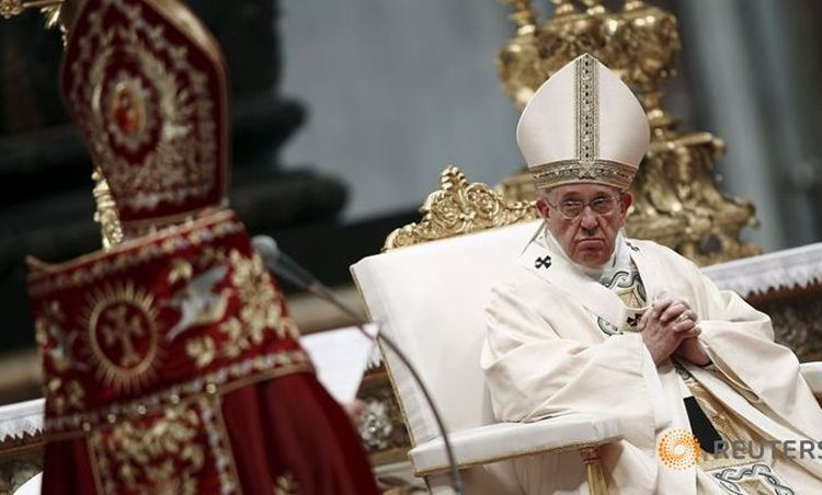 Pope calls Armenian massacre first genocide of 20th century