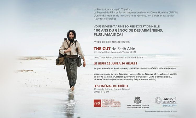 Le film THE CUT, du cinéaste turc Fatih Akin.