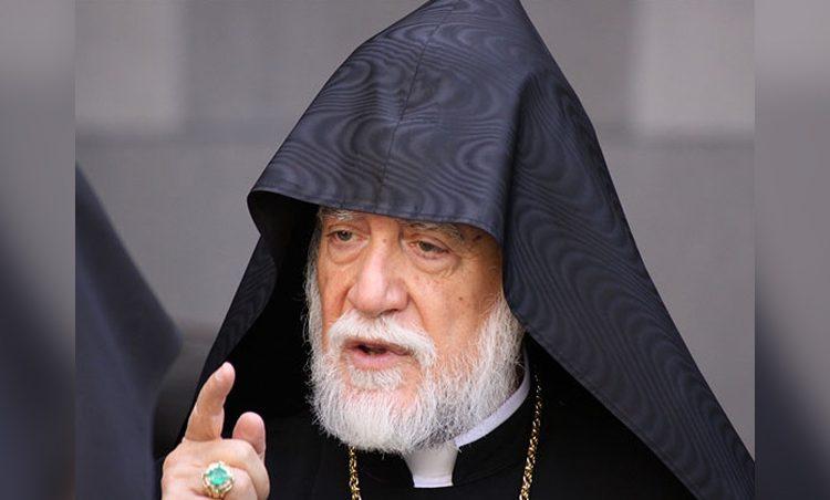 Արամ Ա. Կաթողիկոս Կոչով Դիմած է Հայաստանի Ժողովուրդին եւ Իշխանութիւններուն