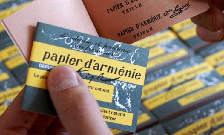 Le Papier d'Arménie, un secret made in Montrouge