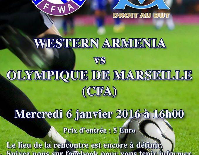 Western Armenia VS Olimpique de Marseille