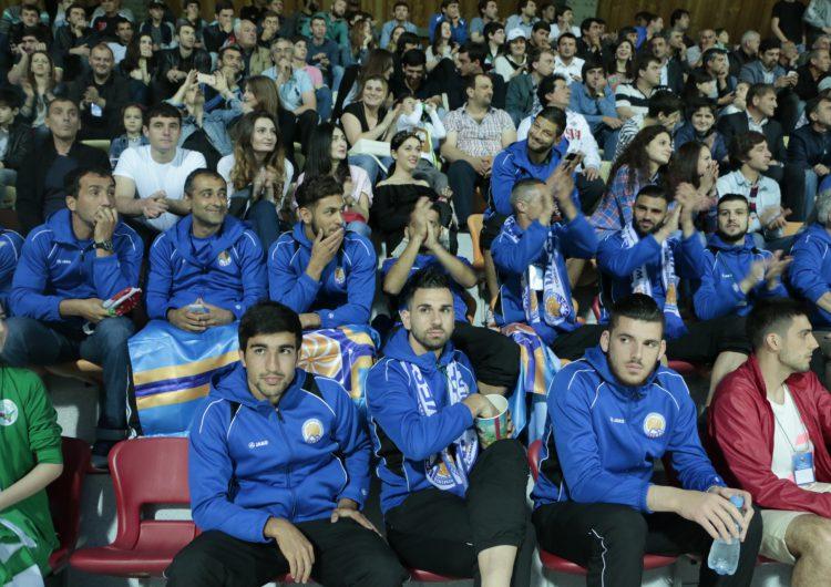 Сборная Западной Армении посетила матч Сборной Абхазии и Чагоса