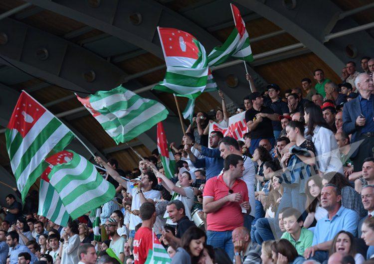 Матч между сборными Абхазии и Западной Армении состоялся на столичном стадионе «Динамо» во вторник 31 мая.