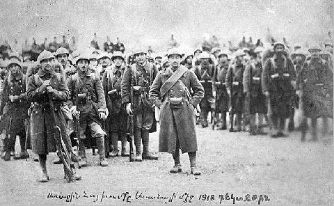 L'Hommage aux Arméniens de la Légion d'Orient