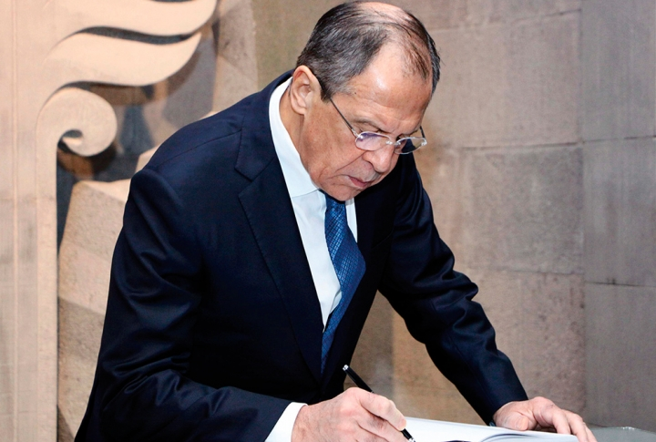 "SERGEY LAVROV: ""FOR THE BENEFIT OF OUR NATIONS"""