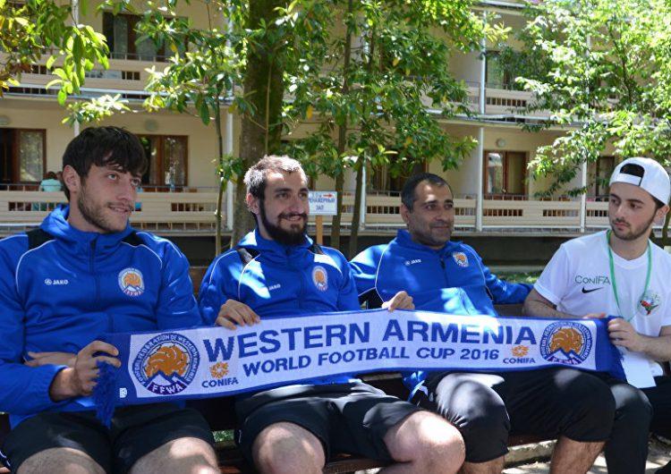 Сборная мира: команду Западной Армении собирали по всему свету
