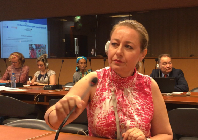 UN Geneva-10th session of the EMRIP. WIPO -Indigenous Peoples Commission Statement of Lydia Margossian from the AAWA