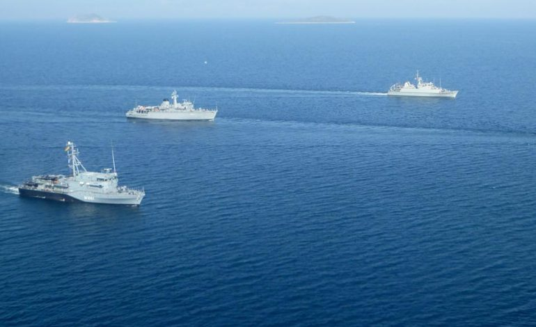 (English) Athens rejects claim by Turkish FM that there are no Aegean sea borders