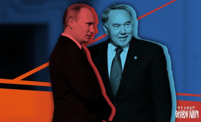 (Русский) Путин и Назарбаев задвигают в геополитике Алиева в угол