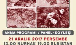 Katliamın 39. yılında Alevi (Arevi) kurumları Maraş'ta yaşamını yitirenleri anacak