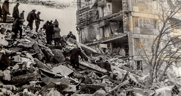 Редкие кадры Спитакской катастрофы 1988 года