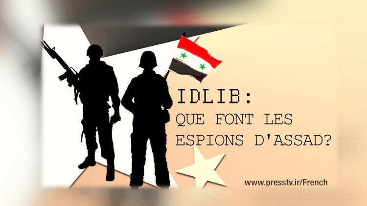 Idlib: que font les espions d'Assad?