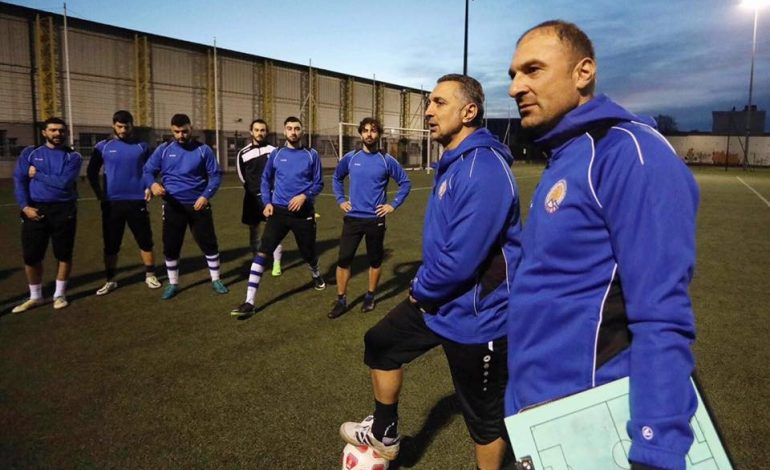 (English) Football Federation of Western Armenia officially announces Harut Vardanyan as the new coach of National Team