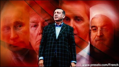 Erdogan défie toutes les puissances