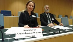 The delegation of Western Armenia headed by President Armenak Abrahamian is in Geneva