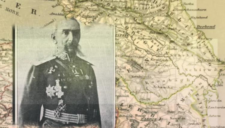 Василий Потто: Азарбайджан находится по ту (южную) сторону Аракса