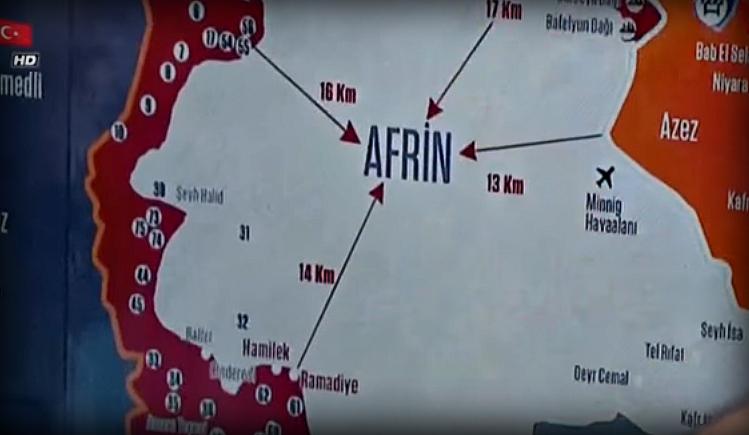 Թիւրքերու համար անակնկալ իրավիճակ մը՝ Աֆրինի մէջ