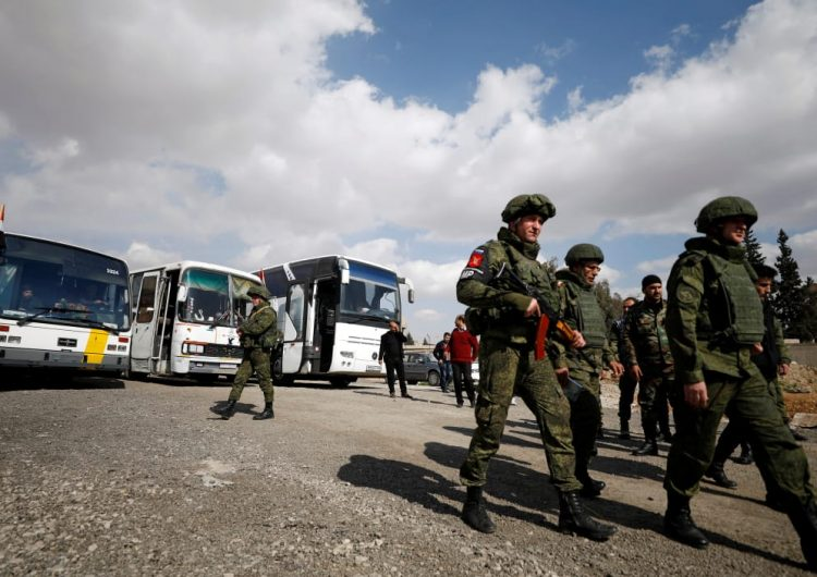 Russian military offers aid for East Ghouta civilians