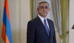 Serj Sarkisyan istifa etti
