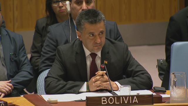 «Իմպերիալիստներ»․ ՄԱԿ-ում Բոլիվիայի դեսպանը խիստ քննադատեց Սիրիայի հրթիռակոծութ