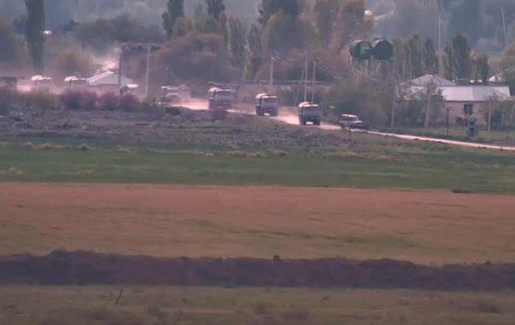 Степанакерт опубликовал видео скопления азербайджанских войск на передовой