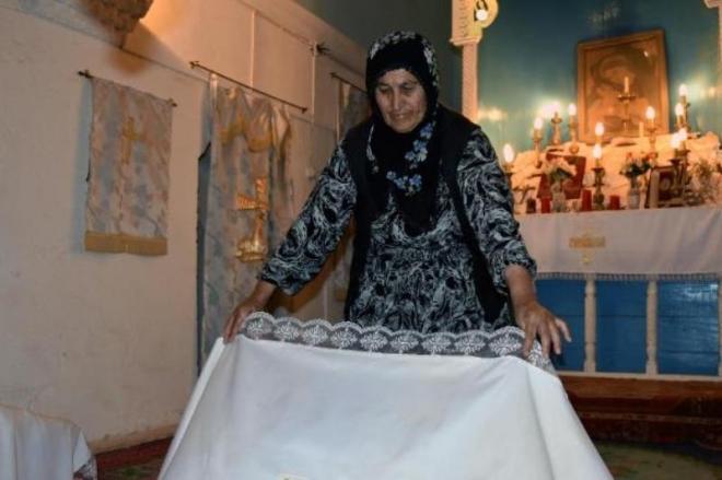 Իսլամ կինը «կը պահպանէ» Մարտինի հայկական միակ եկեղեցին