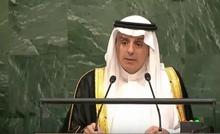 Saudi Arabia open to sending troops into Syria: (Adel al-Joubeir)