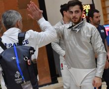 The first Armenian athlete wins a medal in European Fencing Championships U-23, which is currently held in Yerevan
