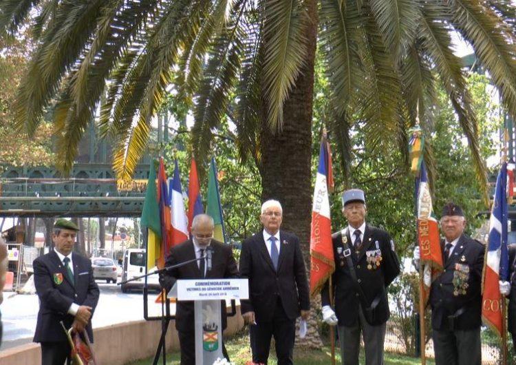 Commémoration des Victimes du génocide région PACA