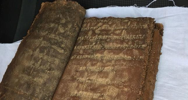 Turk police find historical leather-bound Bible