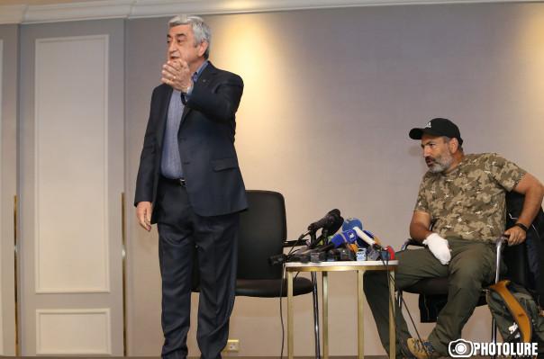 Serj Sarkisyan masayı terk etti: Bu ültimatomdur, devlete şantajdır