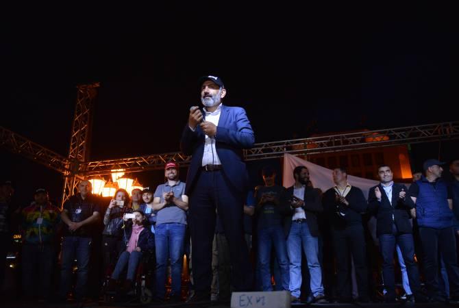 Nikol Paşinyan cumhuriyetin tüm bölgelerinde itaatsizlik eylemlerine son verilmesi çağrısında bulundu