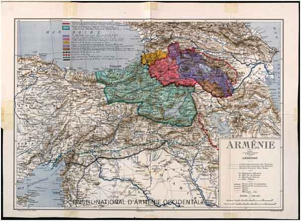 L'Arménie Occidentale – un territoire occupé