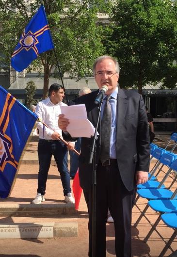 Մովսես ՆԻՍԱՆԵԱՆ: Վիլերբան քաղաքի աւագանիի անդամ, Արեւմտեան Հայաստանի Ազգային Խորհուրդ անդամ