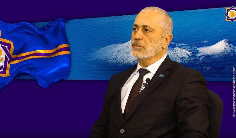 Արեւմտեան Հայաստանի Նախագահ Արմենակ Աբրահամեանը Մայիսի 9-ի Յաղթանակին և Շուշիի ազատագրման կապակցութեամբ ուղերձ յղած է