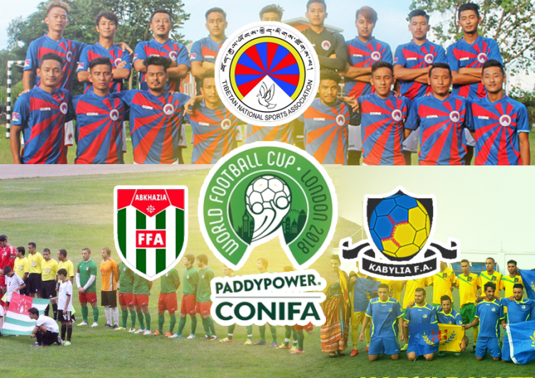 Abkhazia, Tibet and Kabylia to Compete at New Edition of CONIFA World Cup