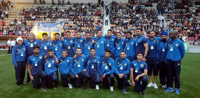 L'équipe Pendjabis du PANJAB dans le groupe de la mort (coupe du monde 2018)