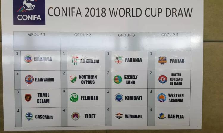 L'équipe nationale kabyle dans le groupe de la mort (coupe du monde 2018)