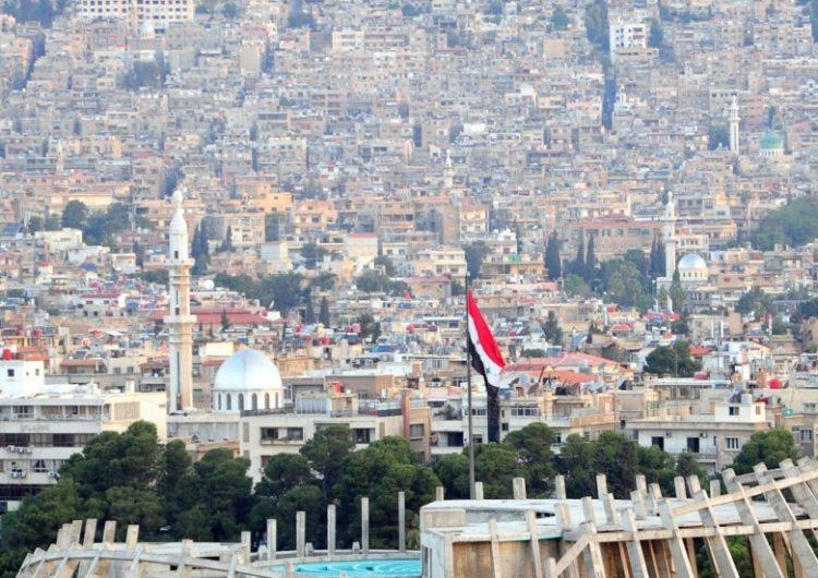 Власти Сирии демонтировали КПП в Дамаске