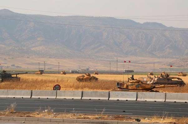 Թուրքիան զինտեխնիկա ու կենդանի ռազմական ուժեր է կուտակում Իրաքի հետ սահմանին