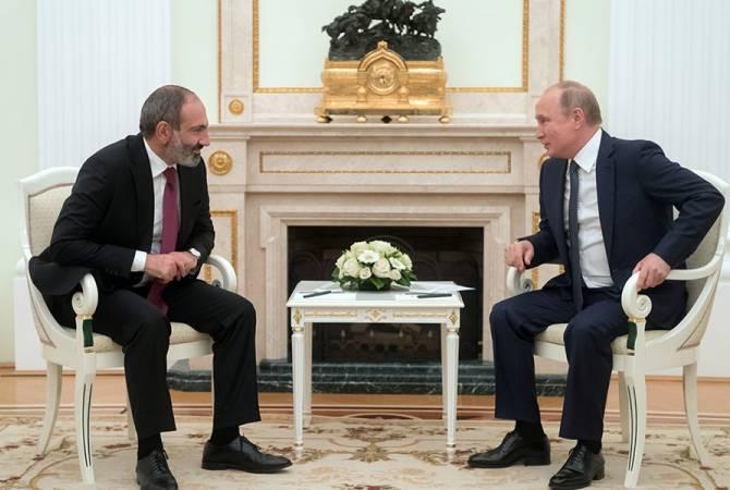 Никол Пашинян заявил, что в его отношениях с Путиным нет тёмных углов