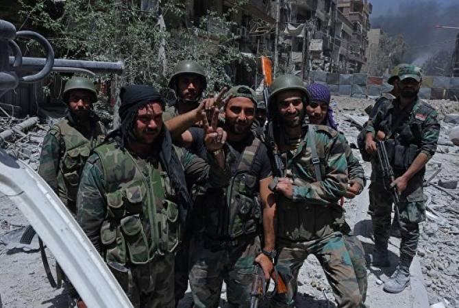 Сирийская армия освободила границу с Ираком от ИГ