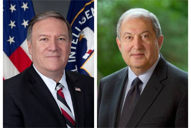 Sarkissian-Pompeo courtesy call possible in Washington D.C. – Armenian presidential office says