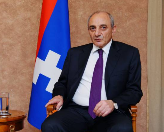 "Artsakh expresses ""unconditional support to Pashinyan in cementing democracy in Mother Armenia"""