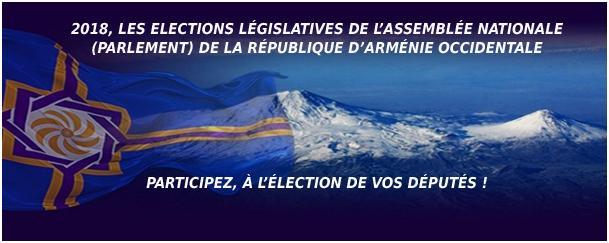 Le Parlement d'Arménie Occidentale et les élections législatives 2018 (1)
