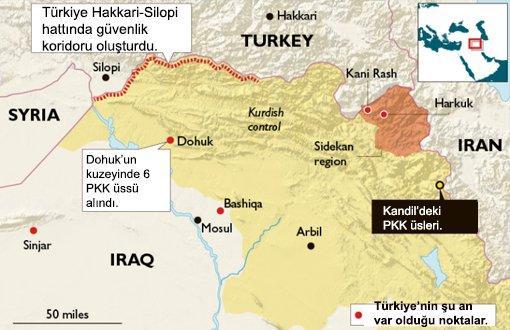 Times: Türkiye Kuzey Irak'ta Saldırıya Hazırlanıyor
