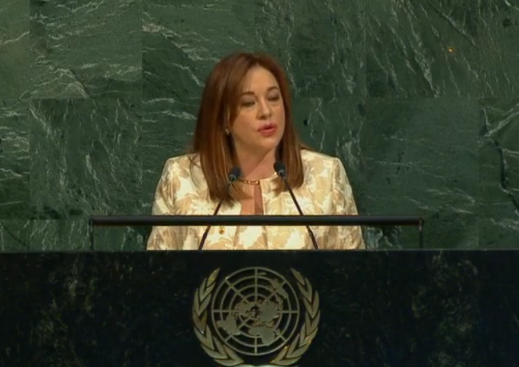 Ecuadorian politician and poet becomes fourth woman to preside over UN General Assembly