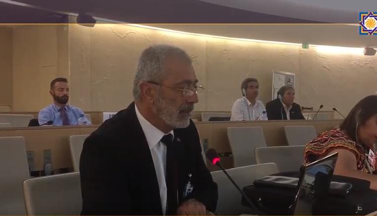 Le Président Arménag Aprahamian et la formation du Mécanisme d'Experts sur les Droits des Peuples Autochtones