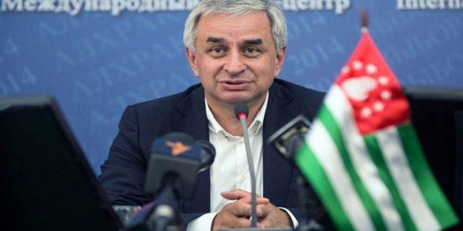 President Khajimba: Syria's recognition of the sovereignty of Abkhazia is a bold and decisive step