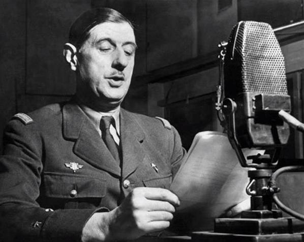 Գեներալ Դը Գոլի կոչը Ֆրանսացիներուն՝ 18 Յունիս 1940թ․